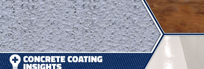 Header Graphic for How to Choose a Concrete Coating