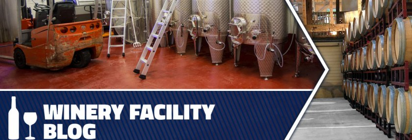 Header for Winery Facility Blog